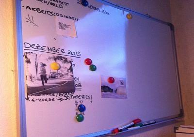 Selbstständiges Arbeiten am Whiteboard