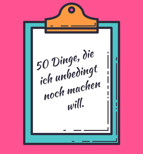 Meine Bucket-List
