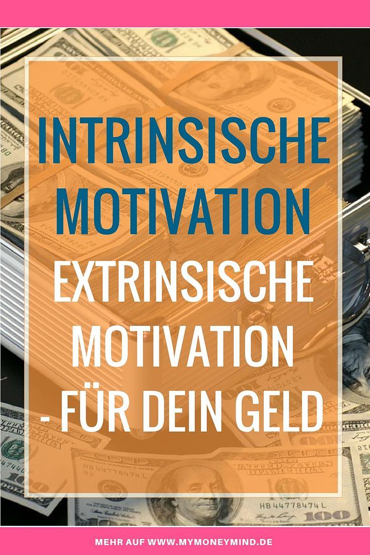 Intrinsische Motivation extrinsische motivation